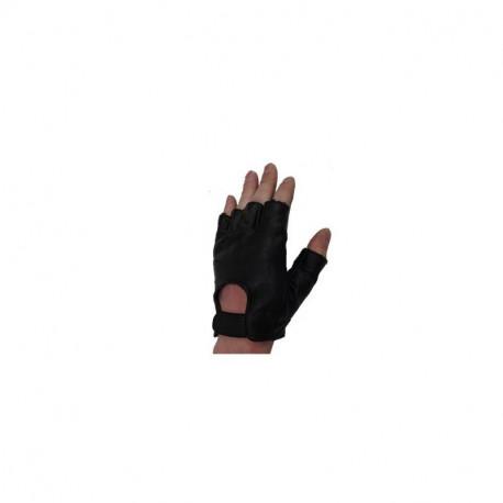 Kožené bezprsté rukavice