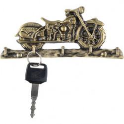 Věšák na klíče - nostalgická motorka