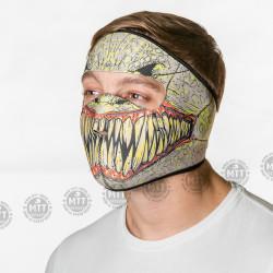 Neoprenová maska ZOMBIE
