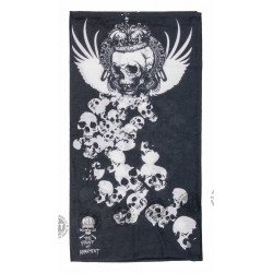 Multifunkční šátek Queen Skull