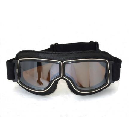 Brýle Old School Sport černá/zrcadlová