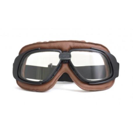 Brýle Old School Brown II čirá skla
