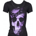 Dámské tričko Lethal Angel Lace Skull