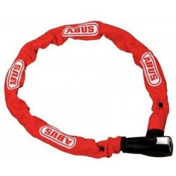 Řetězový zámek ABUS Ionus 8800 - 95 cm červený