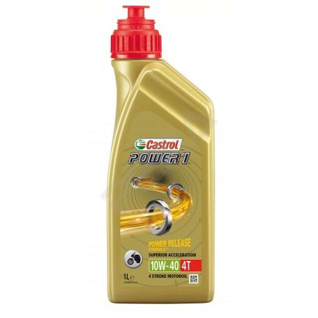 Motorový olej Castrol Power 1 4T 10W-40, 1L