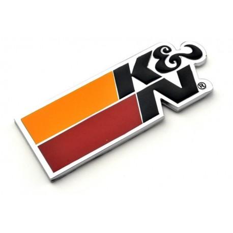 Kovové logo K&N