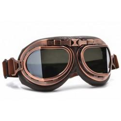 Brýle chopper II - platina/kouřové sklo