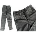 Kožené kalhoty hladké