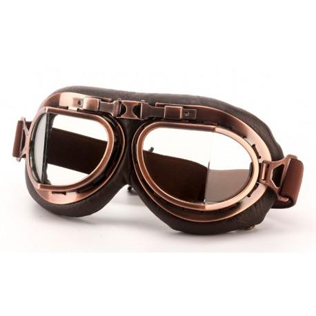 Brýle chopper II - platina/čiré sklo