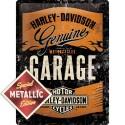 Plechová cedule - Harley-Davidson Garage (Special Edition) 30x40