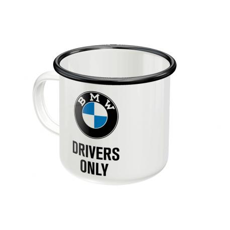 Plechový hrnek BMW Drivers Only