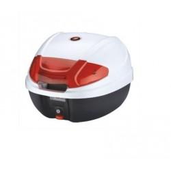 Moto kufr Maxx 30 litrů bílý