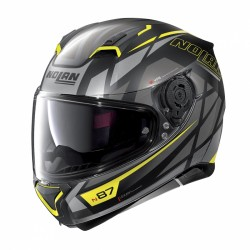 Moto helma Nolan N87 Originality N-Com Flat Black 70