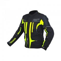 Textilní bunda Maxx dlouhá neon green