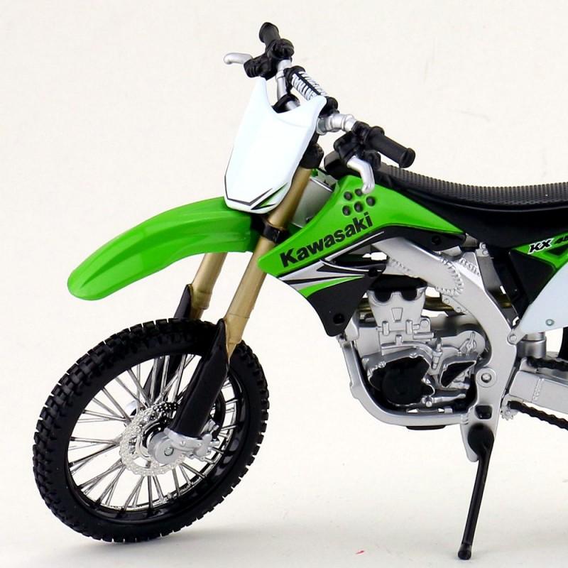 Maisto 1:12 Kawasaki KX 450F Model Maket Kit Motorsiklet