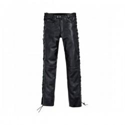 Kožené kalhoty - šněrováky