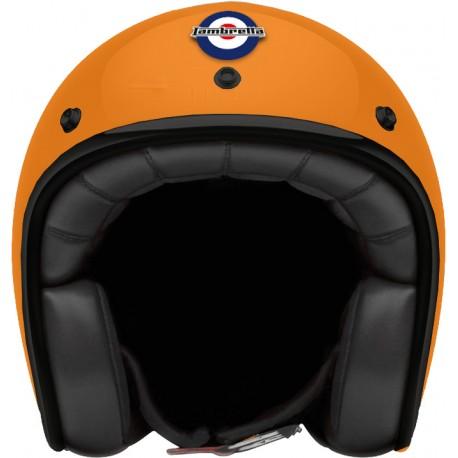 Otevřená helma Lambretta žlutá