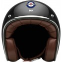 Otevřená helma Lambretta černá