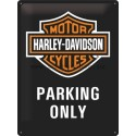 Retro cedule Harley Davidson Parking Only