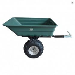 Sklopný vozík za čtyřkolku GARDEN 300 - černý