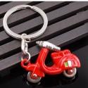 Přívěsek na klíče Piaggio Vespa red