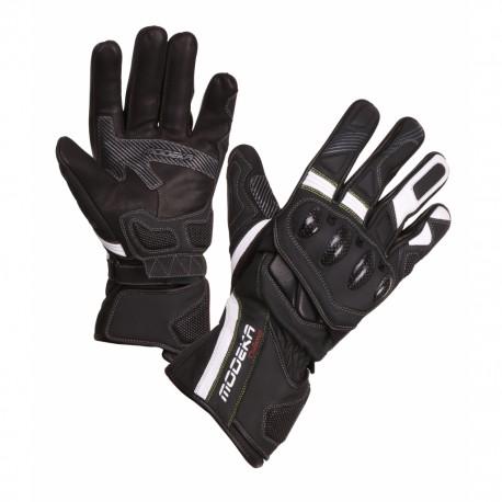 Kožené rukavice Challenge Long Modeka