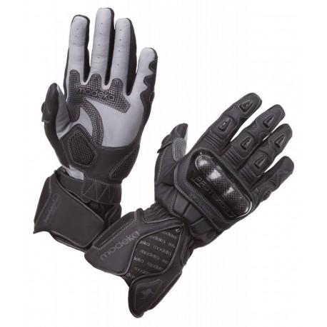 Pánské kožené rukavice Modeka Razor