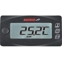Multifunkční moto ukazatel KOSO (teploměr, hodiny, voltmetr)