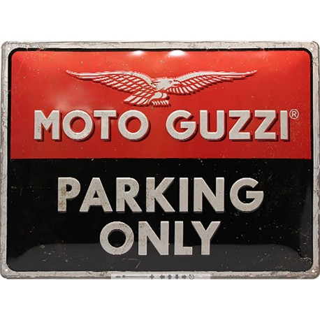 Plechová cedule - Moto Guzzi 30x40 cm