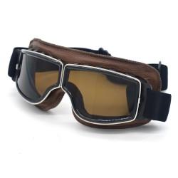 Brýle Old School Sport hnědé/kouřové