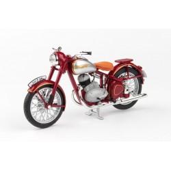 Jawa 250 Pérák Standard (1948) 1:18 - Tmavě Červená