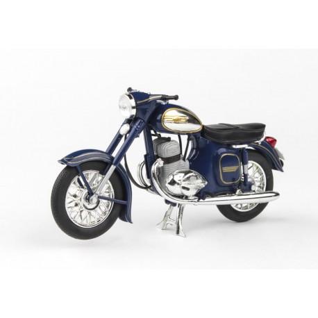 Jawa 350 Kývačka Automatic (1966) 1:18 - Modrá Kobaltová