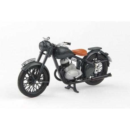 Jawa 250 Pérák (1942) 1:18 - Šedá Tmavá - Prototyp