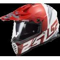 Helma MX436 Pioneer EVO EVOLVE RED WHITE