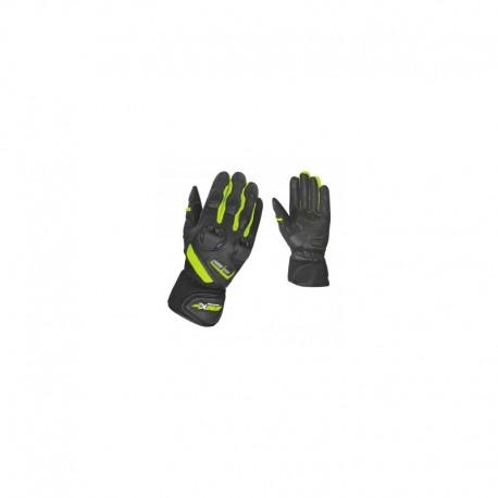 Letní kožené rukavice Maxx fluo