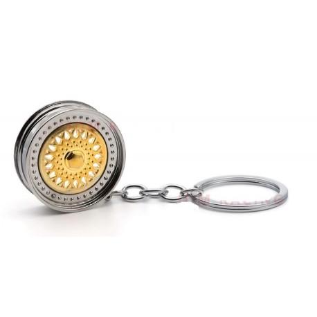 Klíčnka Wheel gold