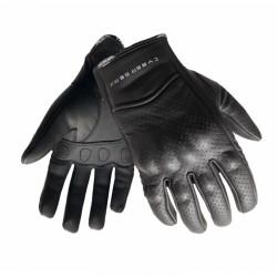 Pánské kožené moto rukavice Cyber Gear Midi, černé
