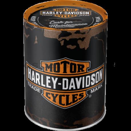 Plechová kasička - Harley-Davidson