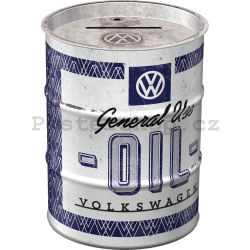 Plechová kasička barel: VW General Use Oil