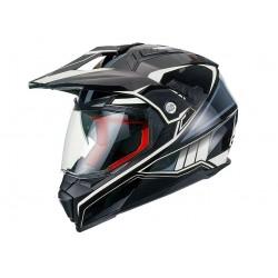 Enduro helma Maxx FS606 se sluneční clonou