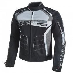 Pánská textilní moto bunda SPARK MIZZEN EVO, šedá