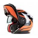 Vyklápěcí helma Maxx FF950 oranžová