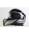 Vyklápěcí helma Maxx FF950 černá/stříbrná