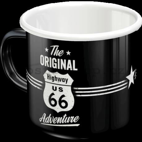Plechový hrnek - The Original Route 66 Adventure