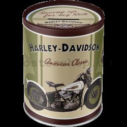 Plechová kasička - Harley-Davidson Knucklehead