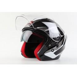 Skútrová helma MAXX OF878 - černá