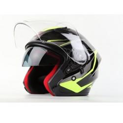 Skútrová helma MAXX OF878 - zelená