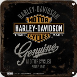 Sada podtácků 2 - Harley Davidson (Garage)