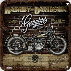 Sada podtácků - Harley-Davidson PRE-LUXE