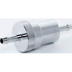 Benzínový filtr chrom 6,5 mm (1/4 Zoll)